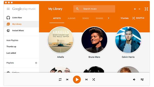 gTunes Google Music available on Mac App Store